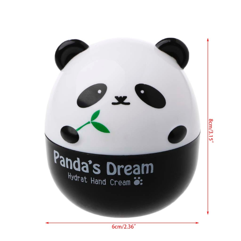 Panda Shape Hand Cream For Lift Hardening Moisturizing Nourishing Exfoliating