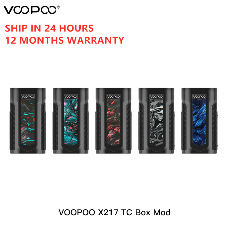 VOOPOO X217 TC Box Mod Vape 217W GENE.FIT Chip TFT Screen Powered By 21700/20700/18650 Battery Vaporizer VS Voopoo Drag 2
