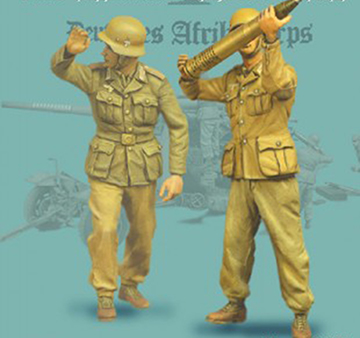 1/35 Modern Stand Include 2     Resin Figure Model Miniature Gk Unassembly Unpainted