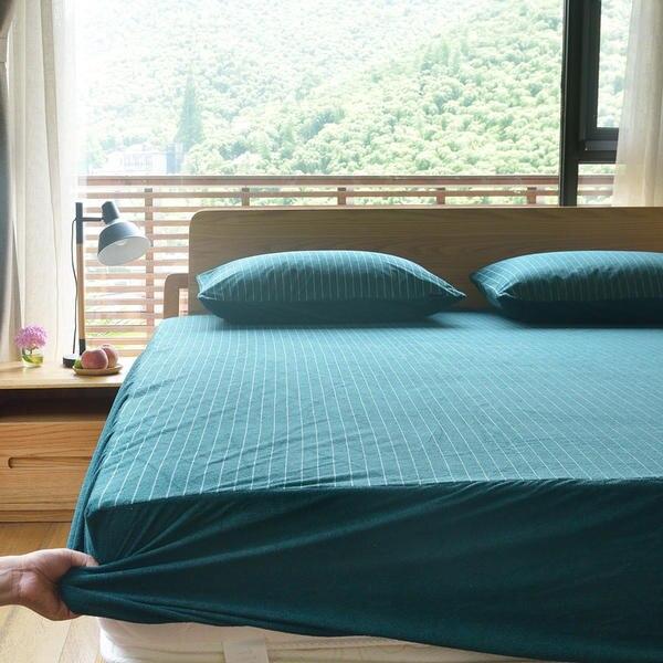 2019 nouvelle serviette en coton complet drap housse imperméable demi-paquet drap de lit haute 20/30/40 Cm reine complet jumeau roi drap plat