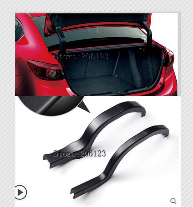 2014 2015 2016 2017 2018 2019 for For Mazda 3 2pcs cover Tailgate Boot Ascensor de apoyoSpring Support rod protection cove(China)