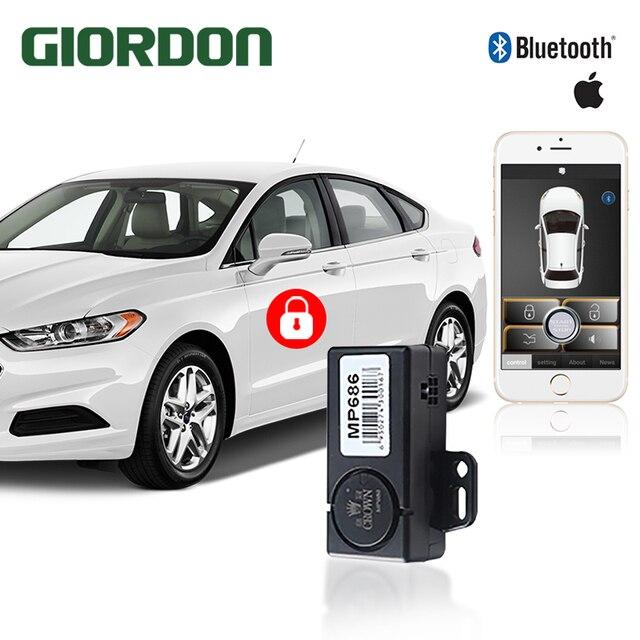 Akıllı telefon oto alarm sistemi cep telefonu sallayarak 2 kez açma/kilit. orijinal araba siren veya dönüş lambası çıkış göstergesi.