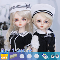 Luts Bory Doll BJD twins 1/4 Movable Joints fullset complete professional makeup Fashion Toy for Girls Gift