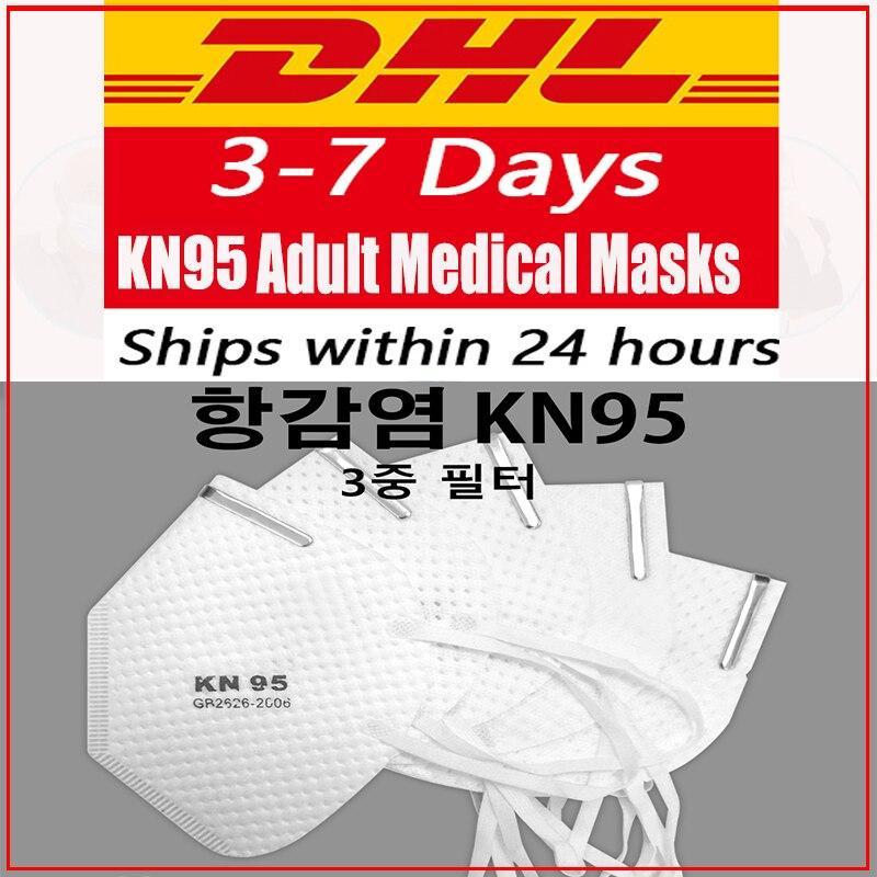 N95 Mask With Breathing Respirator Valve Kn95 Kf95 Mouth Face Mask Filter Masker PM2.5 Masks Ffp1 FFP2 FFP3 KF94 N95 Ce Mask Flu