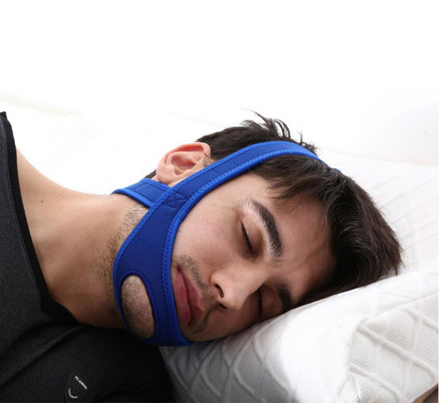 Anti Snoring Chin Strap Suitable for Sleep Apnea Treatment to Stop Snoring and get Comfortable Sleep 1