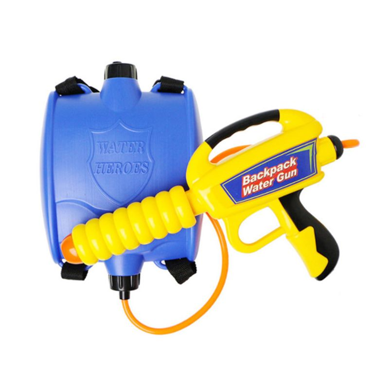 Water Gun Backpack Super Soaker Water Blaster Pump Squirt For Kids Girls Long Range Large Capacity With Tank Outdoor Toys