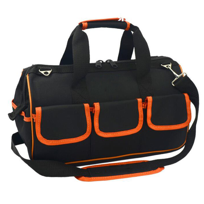 13/15/17/19 Inch Multi-Function Kit Large Capacity Repair Kit Bag Messenger Bag Shoulder Bag Waterproof Portable Tool Bag