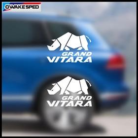2pcs 30cm Decals For Suzuki Grand Vitara AT MT 4X4 OFF ROAD Fit 3-5 Doors Car Door Window Glass Body Decor Stickers (1)_副本