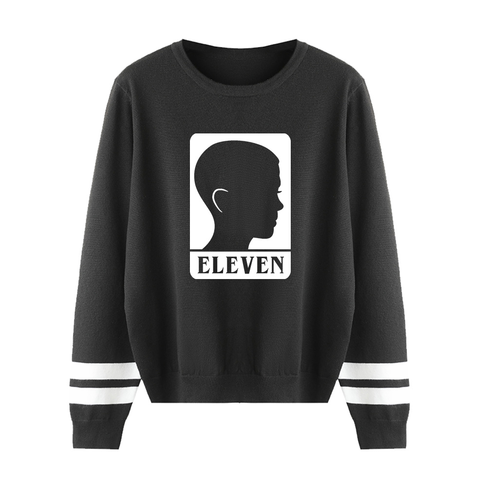 Fashion Cool Stranger Things Kpop Sweater Men/women Print Casual Harajuku Kid's 0-neck Sweater Casual Children Tops