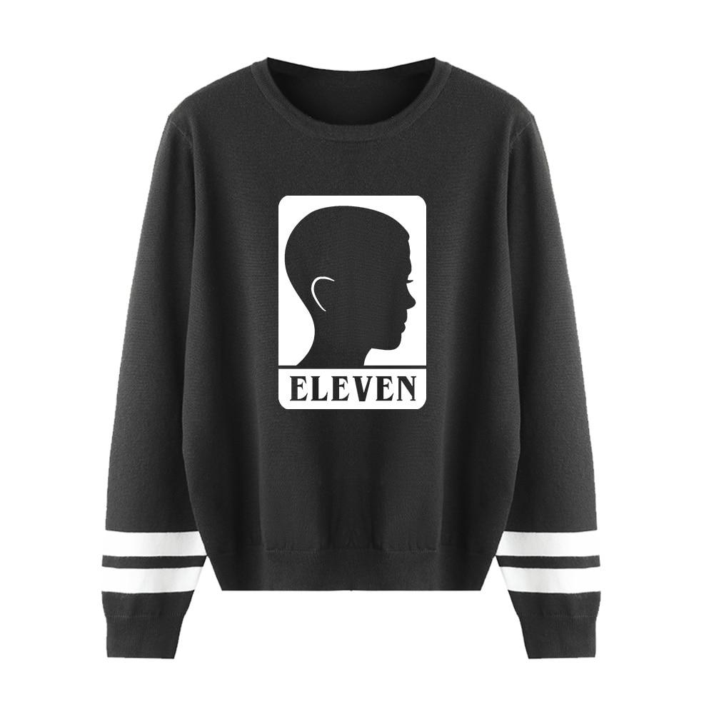 Fashion Cool Stranger Things Kpop Sweater Men/women Print Casual Harajuku Kid's 0-neck Sweater Casual Children Tops