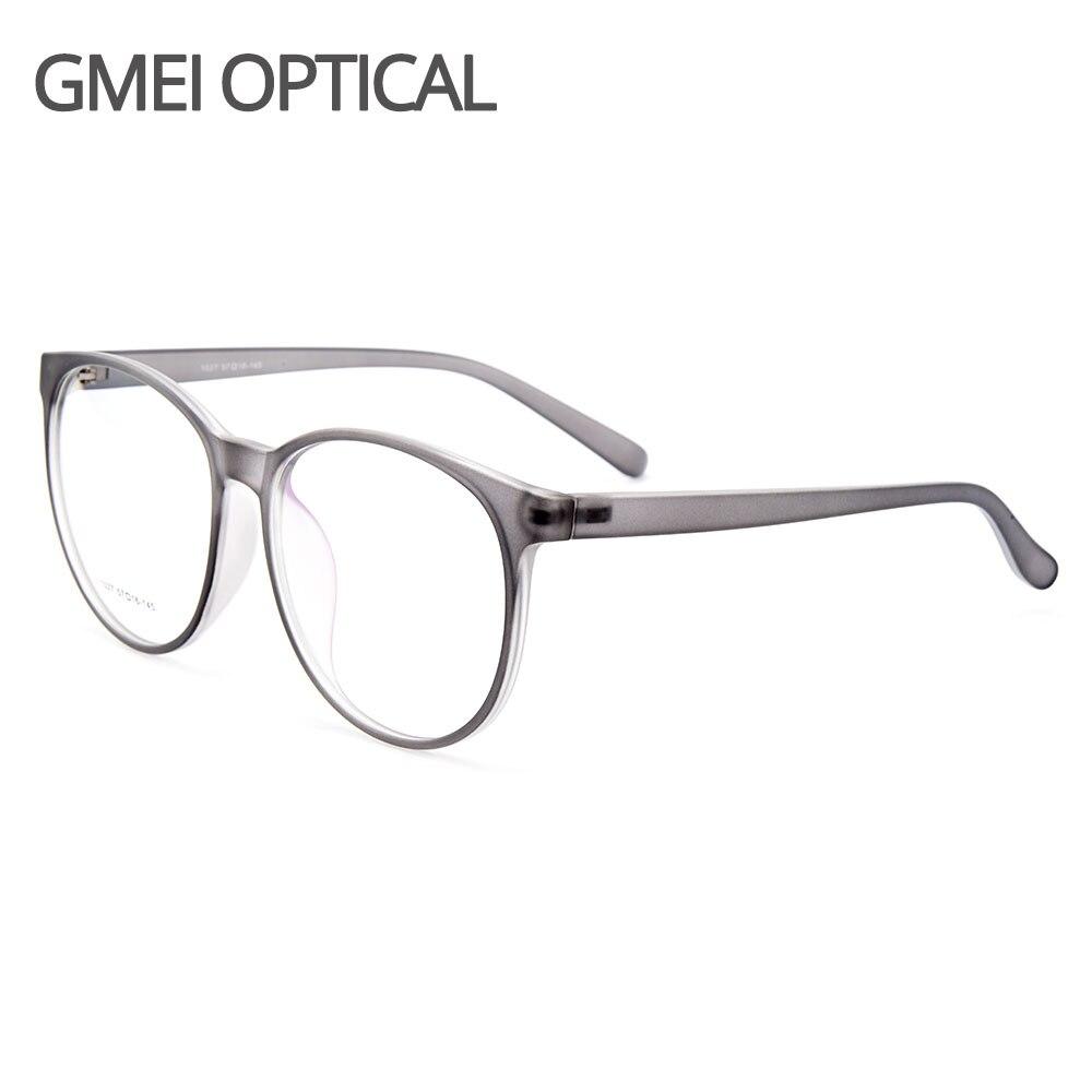 Gmei Optical Ultraleve TR90 Mulheres Óculos De Armação Redonda Óculos de Grau de Miopia Armações Eyewear Menina Y1027