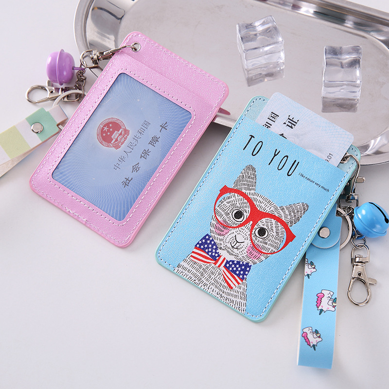 Creative Pink Mouse Retractable Badge Card Holder Nurse & Doctor Exhibition Key ID Name Card Badge Holder School Office Supplies