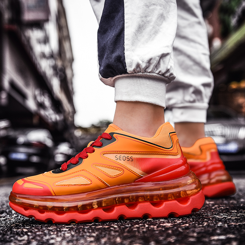 New 2019 Mens Shoes Sneakers Breathable Air Cushion Designer Casual Running Shoes unisex New Arrival Color