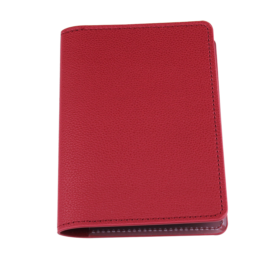 Zoukane Solid Embossed Passport Cover Case ID Holder Traverl Accessories Passport Card Wallet Clip CH14