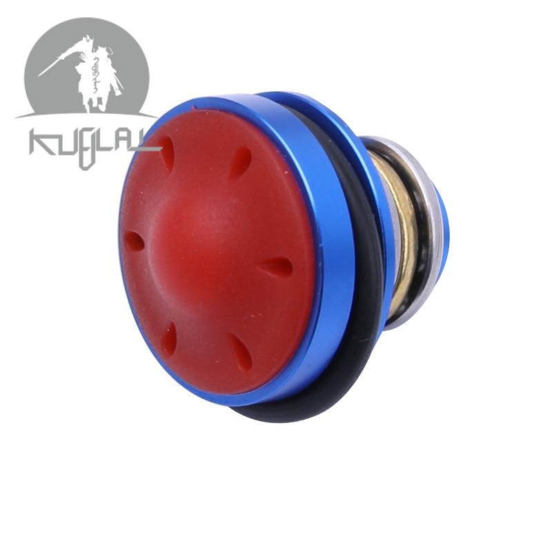 Kublai Metal Aluminum Alloy Mushroom Silent Piston Head For Ver.2 / 3 Gel Blaster Airsoft AEG Gearboxs Free Shipping