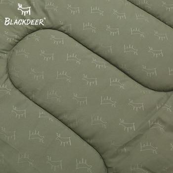 Blackdeer Camping Cotton Splice Sleeping Bag  Season Warm Pillow Hooded Envelope Sleeping Bag for Outdoor Traveling Hiking 4