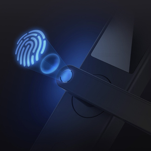 Image 5 - Xiaomi Mijia สมาร์ทประตูล็อค Youth Edition สมาร์ทล็อคลายนิ้วมือรหัสผ่านปลดล็อก Detect Alarm ทำงานร่วมกับ Mi Home App