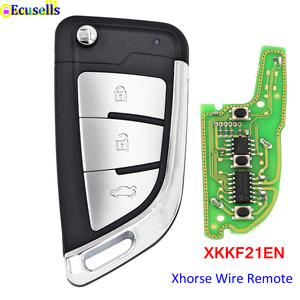 Image 1 - Original XHORSE Wire Remote Key Knife Style XKKF21EN Work With Xhorse VVDI Tools