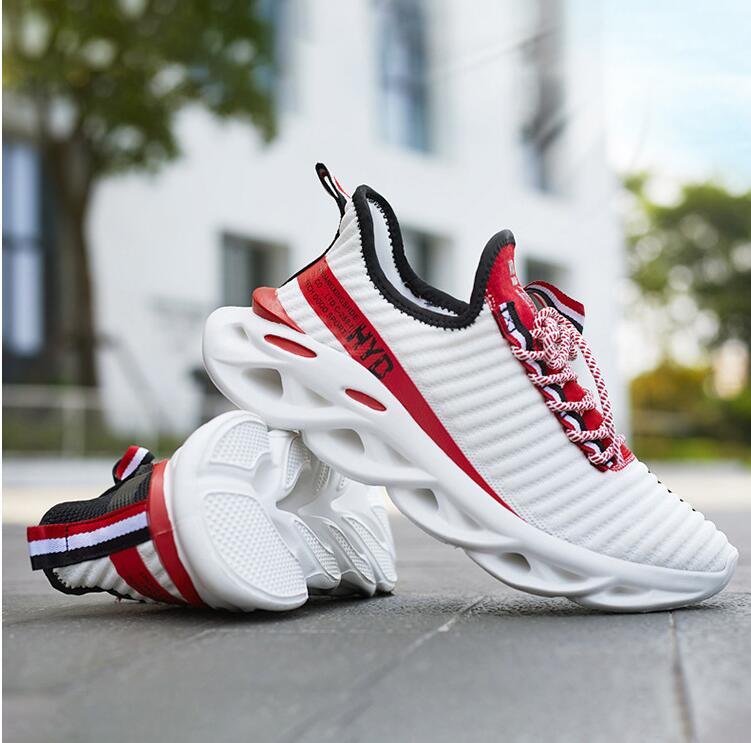 Кроссовки мужские спортивные, повседневная сетчатая Уличная обувь в стиле хип-хоп, для колледжа, HYD 662