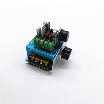 AC 220V 2000W 4000W SCR Regulator napięcia ściemniacze ściemniacze Regulator prędkości silnika termostat elektroniczny Regulator napięcia moduł tanie i dobre opinie other 2000W 4000W JEDNA