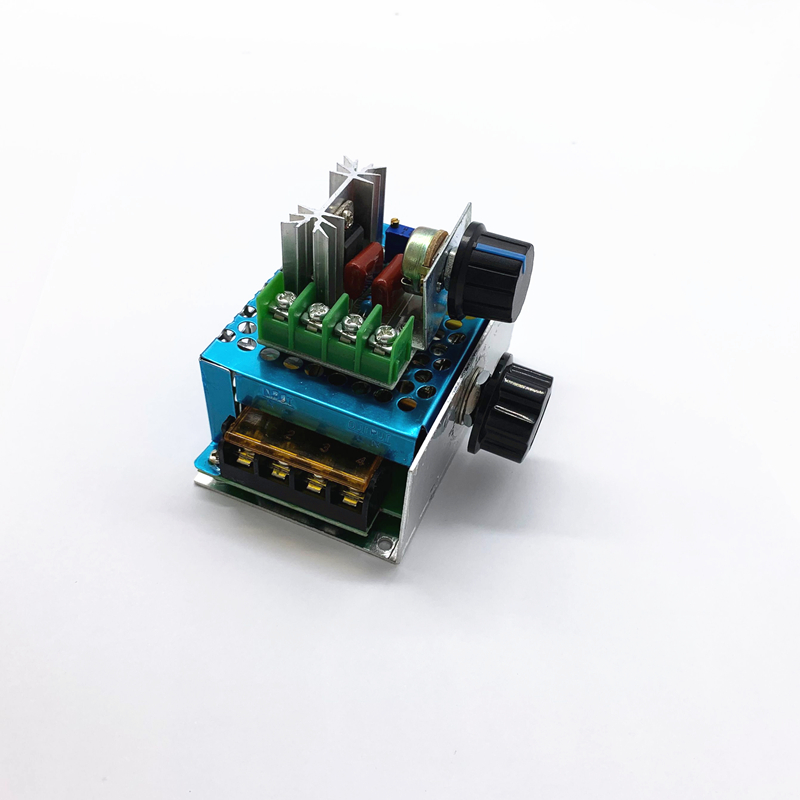 AC 220V 2000W 4000W SCR Voltage Regulator Dimming Dimmers Motor Speed Controller Thermostat Electronic Voltage Regulator Module