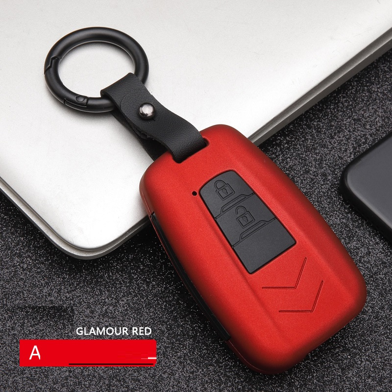 Car Styling ABS Carbon Fiber Car Remote Smart <font><b>Key</b></font> <font><b>Case</b></font> Cover For <font><b>Toyota</b></font> CHR C-HR Prado 2017 <font><b>2018</b></font> Prius Camry <font><b>Corolla</b></font> RAV4 <font><b>2018</b></font> image