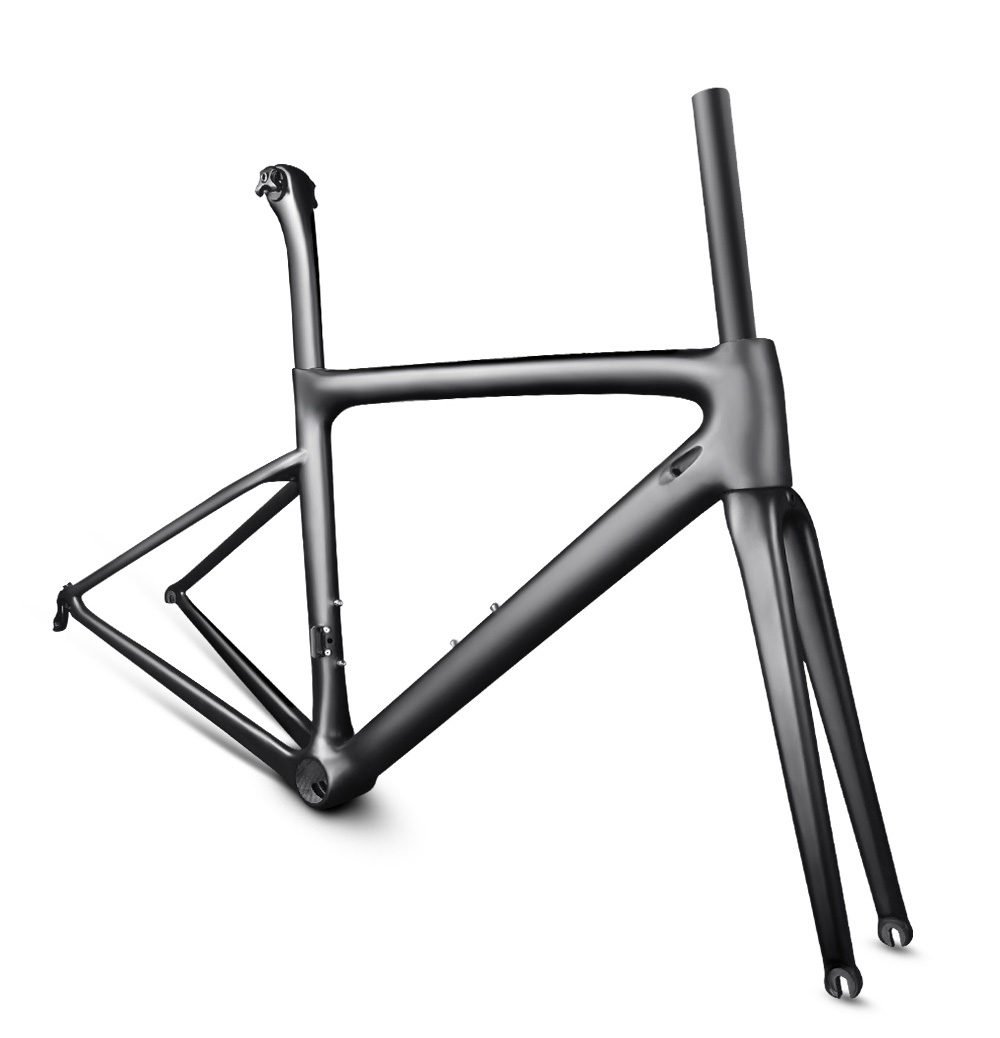 Ultralight Carbon <font><b>Bike</b></font> Road Frame Bicycle Frameset Customized Painted <font><b>OEM</b></font> Superlight Carbon Fiber <font><b>Bike</b></font> Frameset image