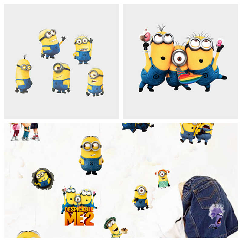 Minions Muurstickers Kinderen Kamer Home Decor Minions Vinyl Kinderkamer Decal Baby Kamer Nursery Decor