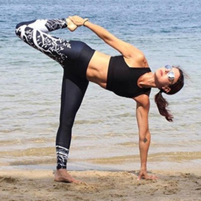 Fashion Print Slim Leggings Pants Women Elastic Plus Size Casual Legging Female Streetwear Fitness Push Up Bodybuilding Trousers