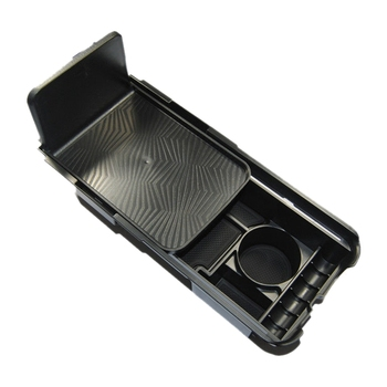 Car Styling Inner Secondary Storage Glove Box Organizer Container Car Center Console Armrest Tray for Honda CRV CR-V 2017 2018