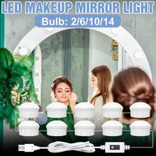 Dc 12v туалетный столик макияж светильник лампа светодиодный
