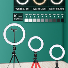 Phone-Ring-Lamp Makeup Photography-Light Dimmable-Camera Selfie-Flash Ringlight Video-Live