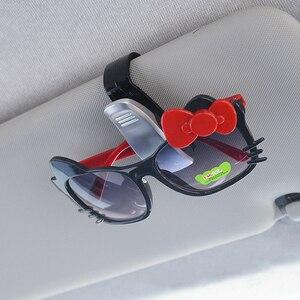 Автомобильный солнцезащитный козырек, зажим для солнцезащитных очков, чехол для Mini Cooper S JCW R55 F55 F60 Smart 453 fortwo forfour, аксессуары