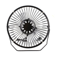 6 inch USB Solar Fan + 5W 6.5V Cell Solar Panel Waterproof Foldable Bag Mobile Phone Charger Outdoor Cooling Ventilation Fan