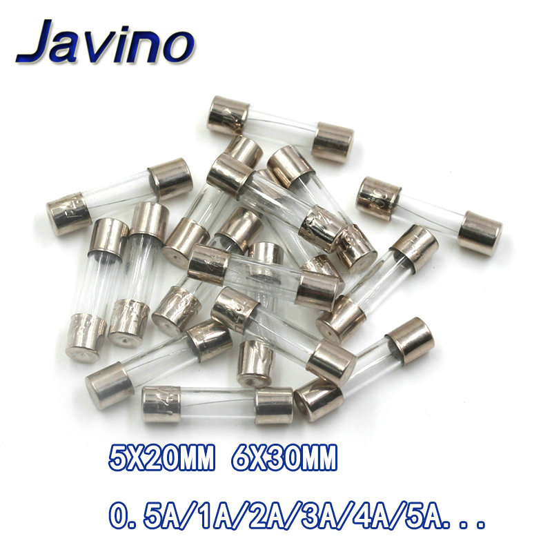 1-2 5-10 or 20 fast 6x30mm glass fuse 250v 4a fast fuse