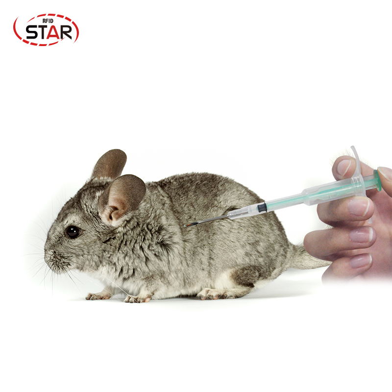 10pcs 1.25*7mm 134.2KHz FDX-B Pet Animal Microchip Syringe Horse Dog Microchip Pet Chip Animal Chip Syringe For Dogs Cats Fish