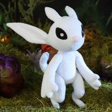 25cm jogo quente ori boneca de pelúcia naru & ori macio animais de pelúcia adorável branco árvore elf brinquedos grandes aniversário chirstmas presente para crianças