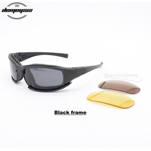 Tactical Goggles Men Military polarized Sunglasses Bullet-pr