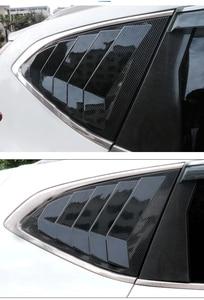 Image 4 - For Honda CR V CRV 2017 2018 2019 Rear Fender Side Window Blind shades Louver Frame Window Sill Molding Cover Sticker Trim