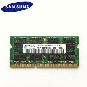 Image 3 - Samsung 8GB (2pcsX4GB) 2Rx8 PC3 8500S DDR3 1066 MHz Laptop Bộ Nhớ 4G PC3 8500 1066 MHz Notebook Mô Đun SODIMM RAM