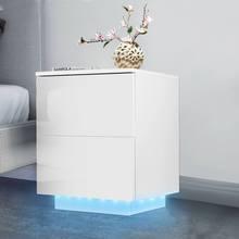 Nightstand Bedside Table Side-Table-Cabinet-Storage Furniture-Muebles Bedroom Modern