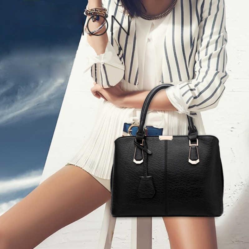 Вместительная женская сумка через плечо в западном стиле, дизайнерская сумочка из искусственной кожи, Женский тоут через плечо