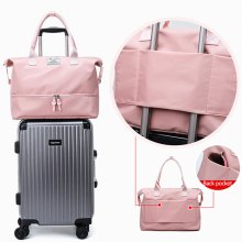 Women Travel Handbag Fashion Luggage Duffle Bags Nylon Handbags Casual Tote Travelling Bag Large Capacity