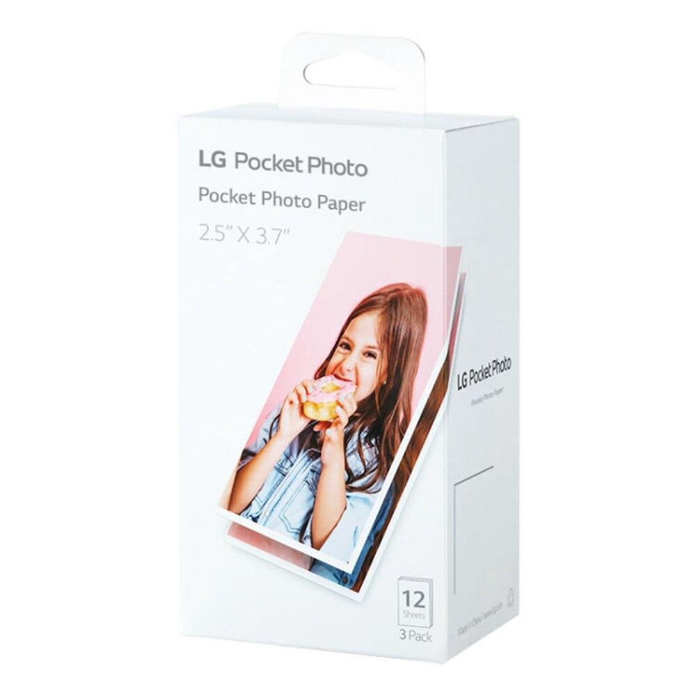 Новая PT3013 оригинальная фотобумага для LG PC389P PC389S PC389 фотопринтер специальная фотобумага 1 коробка 36 листов title=