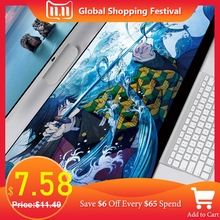 Mousepad XXL Mats-Pad Keyboard Computer-Gamer Anime Print No for Csgo Mice PC Locking-Edge