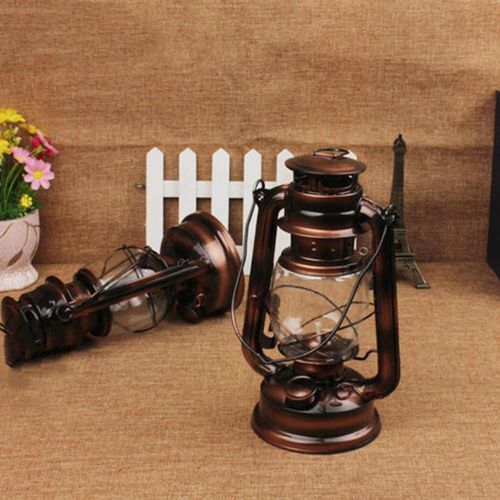 Vintage Nostalgic Classic Kerosene Lamp Retro Lantern Paraffin Wild Camp Light