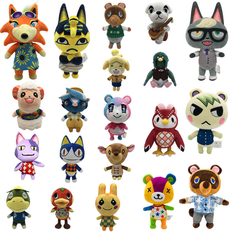 New Animal Crossing Celeste Raymond Judy Bob Marina Soft Plush Toy Doll Gifts