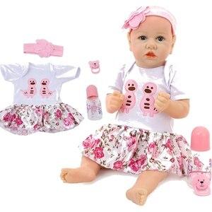 58 cm reborn baby doll bonito malotes bebê real macio silicone material de algodão boneca corpo da criança brinquedos bebês boneca lifelike para presentes