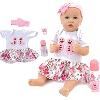 58CM Reborn Baby Doll Cute Pouting Baby Real Soft Silicone Cotton Material Doll Body Toddler Toys Babies doll Lifelike For Gifts