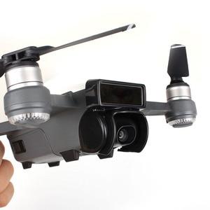 Image 5 - Аксессуары для DJI Spark, пульт дистанционного управления, джойстик + крышка объектива + солнцезащитный козырек + пропеллер + Защитная опора для DJI Spark Drone